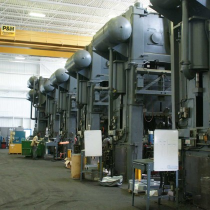 Tandem Stamping Press-line & Verson Stamping Press